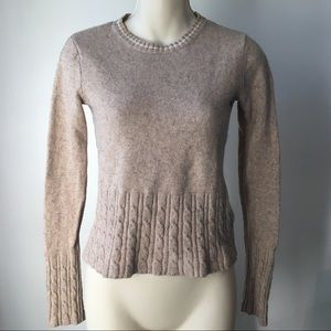 ⭐️ Tommy Hilfiger Womens Mixed Cable Knit Sweater